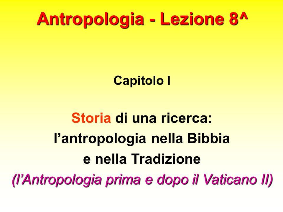 Antropologia - Lezione 8^