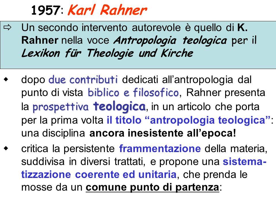 1957: Karl Rahner
