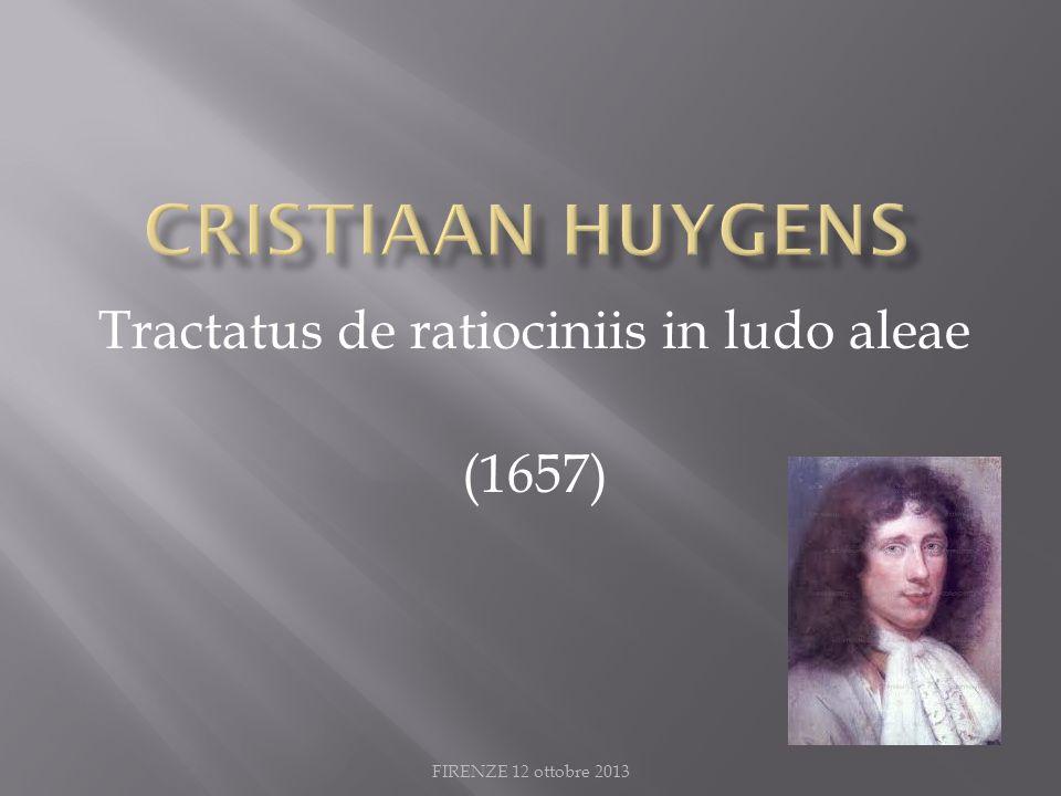 Tractatus de ratiociniis in ludo aleae (1657)