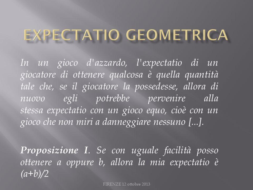 ExpeCtatio GEOMETRICA