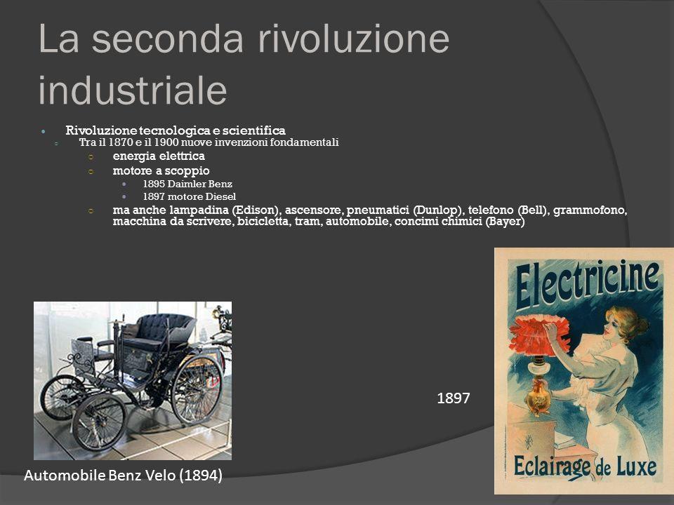 Who Invented The Automobile >> 4. La Belle Époque e la prima accelerazione del progresso - ppt video online scaricare
