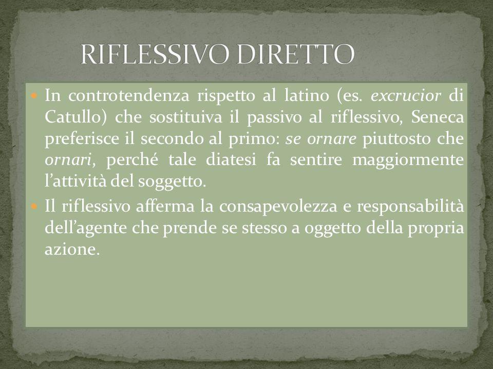 RIFLESSIVO DIRETTO