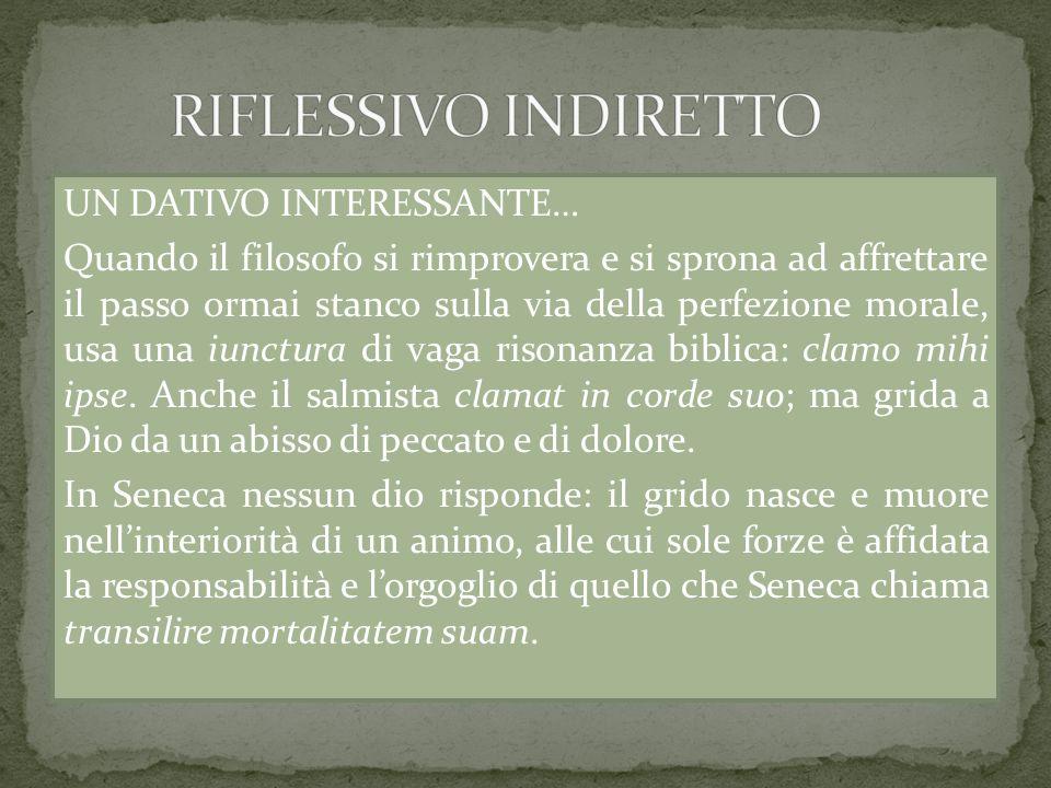 RIFLESSIVO INDIRETTO