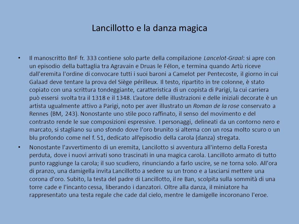 Lancillotto e la danza magica