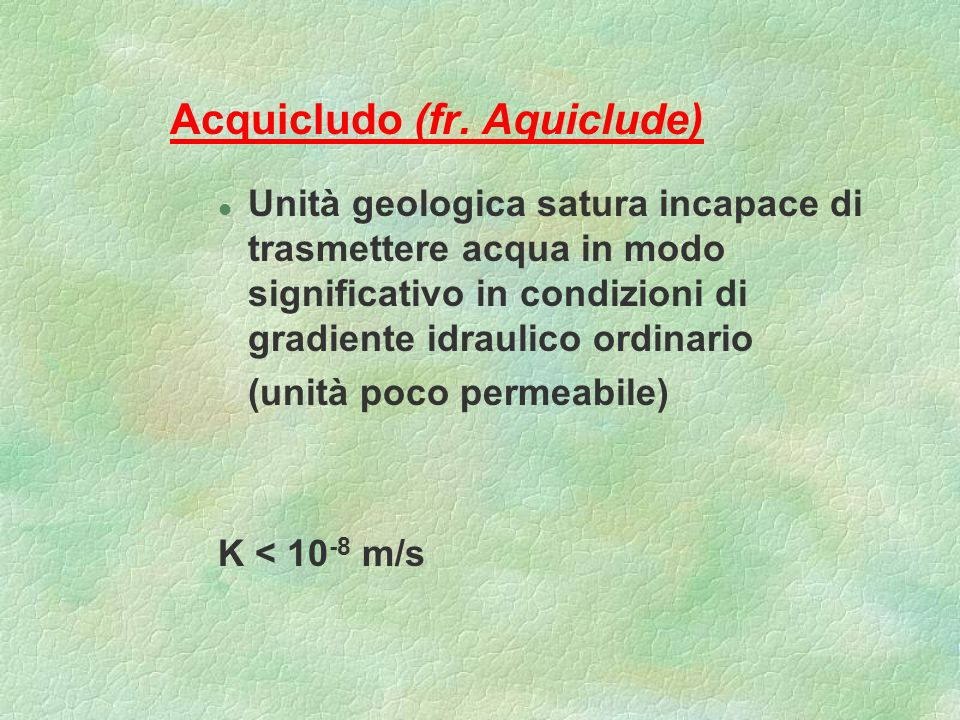 Acquicludo (fr. Aquiclude)