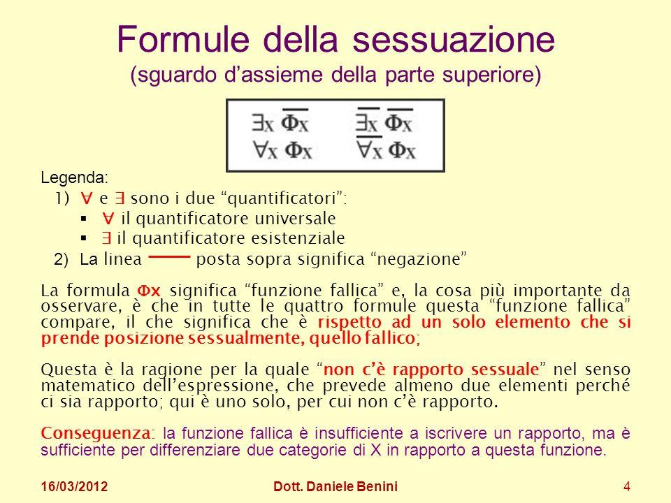 Formule della sessuazione (sguardo d'assieme della parte superiore)