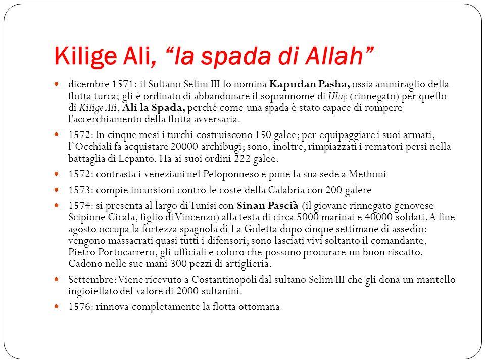 Kilige Ali, la spada di Allah