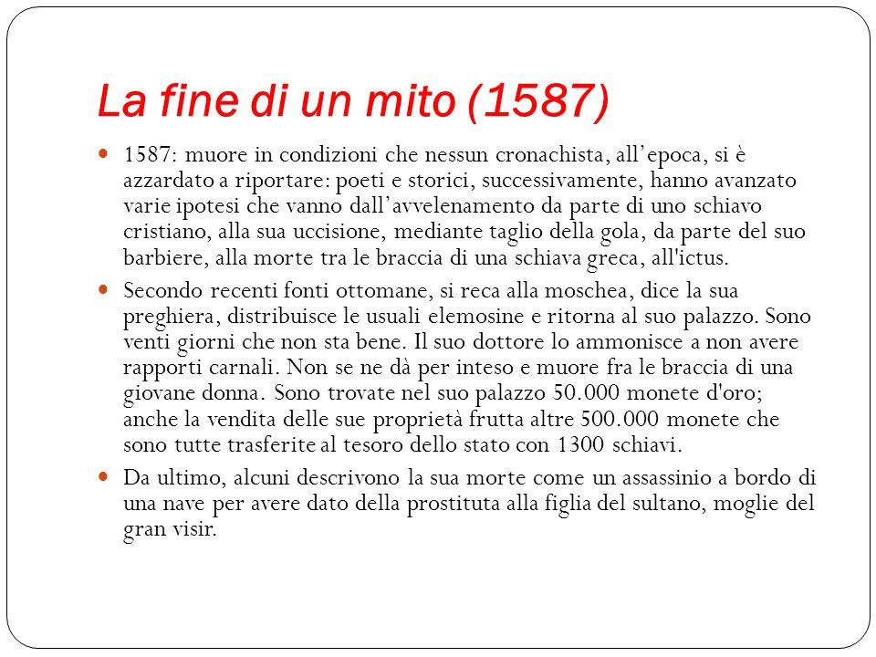 La fine di un mito (1587)