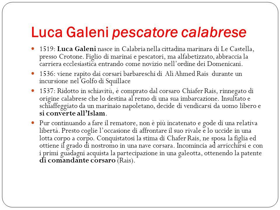 Luca Galeni pescatore calabrese