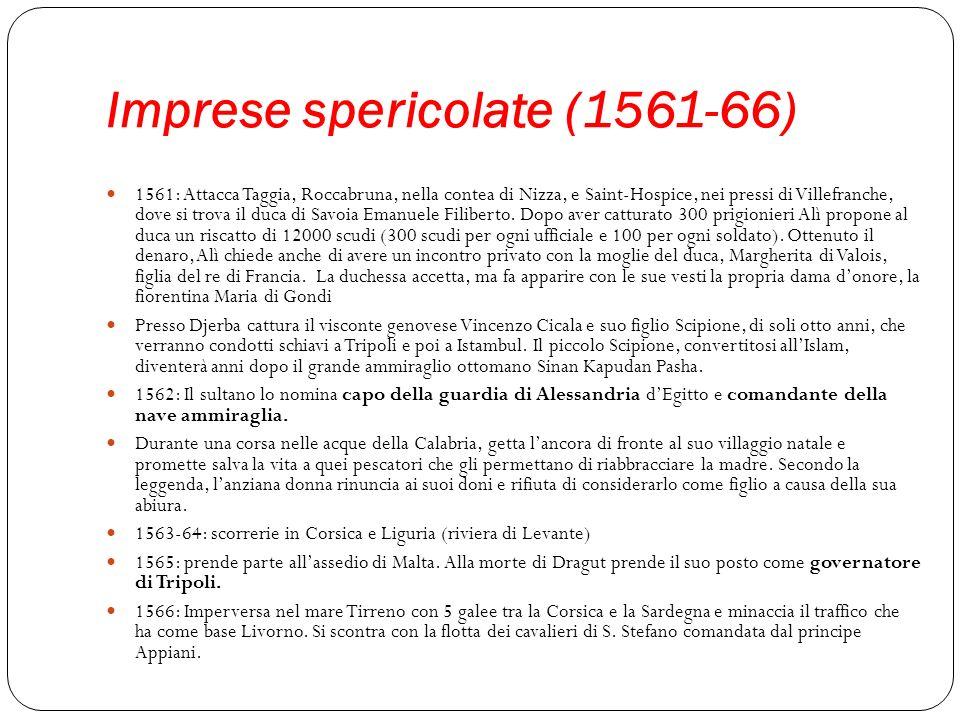 Imprese spericolate (1561-66)