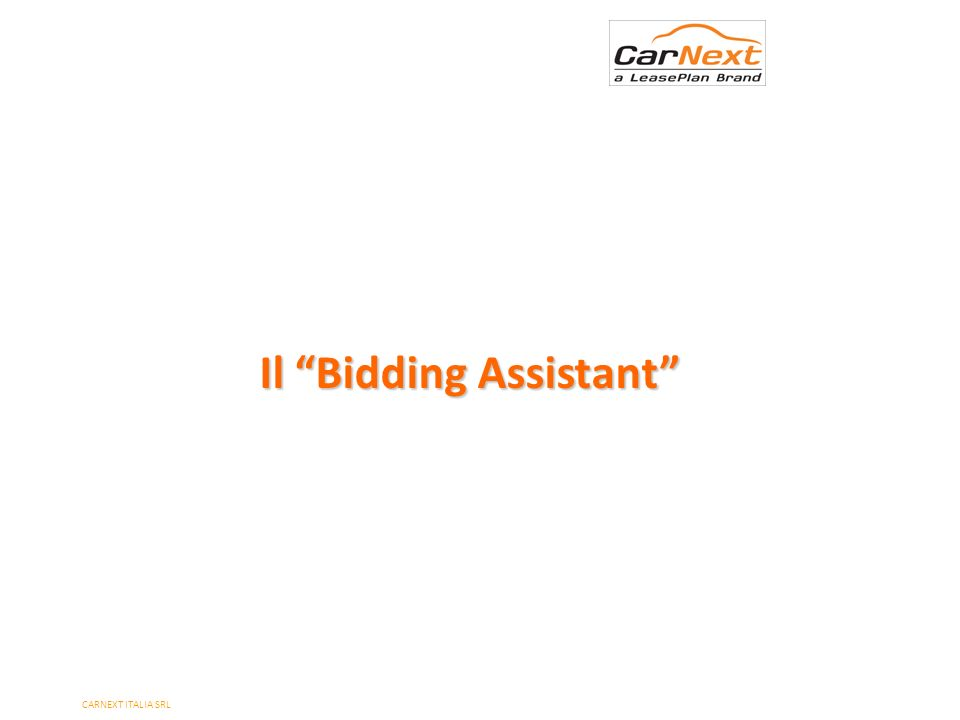 Il Bidding Assistant