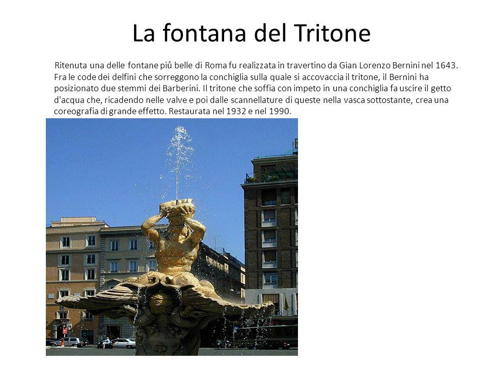 La fontana del Tritone