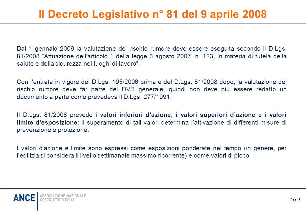 Il Decreto Legislativo n° 81 del 9 aprile 2008