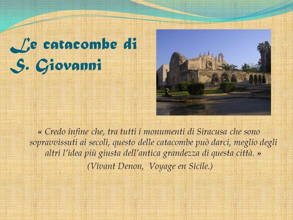 Le catacombe di S. Giovanni