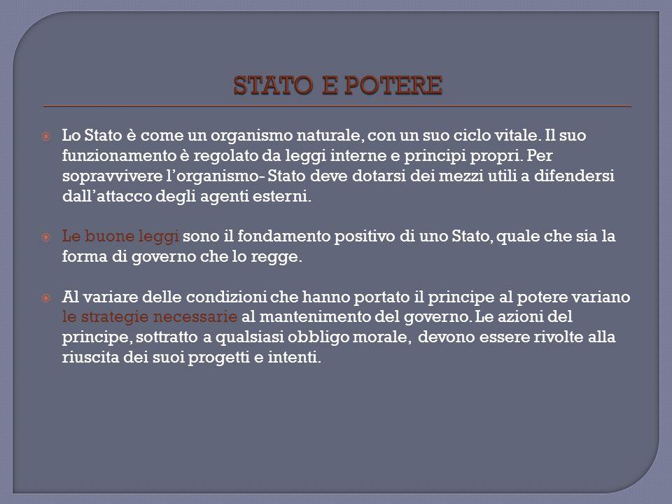 STATO E POTERE