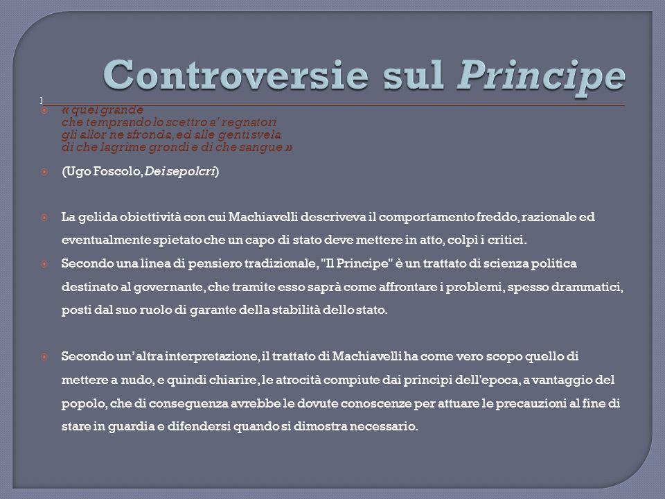 Controversie sul Principe