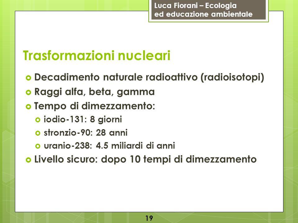 Trasformazioni nucleari