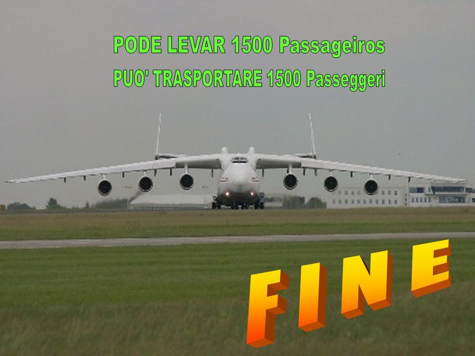 PODE LEVAR 1500 Passageiros