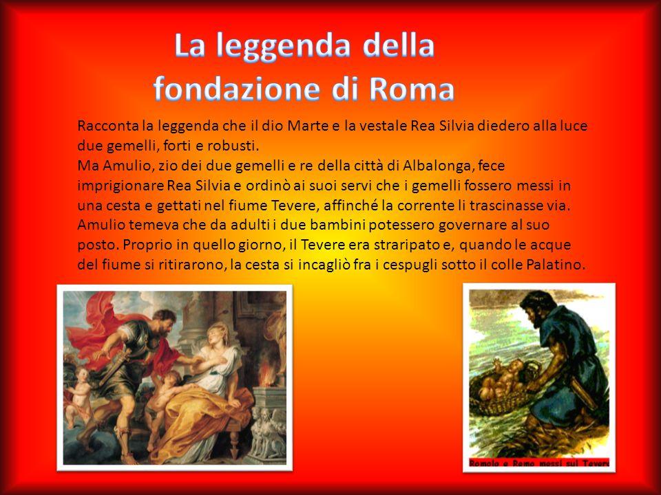 La leggenda della fondazione di Roma