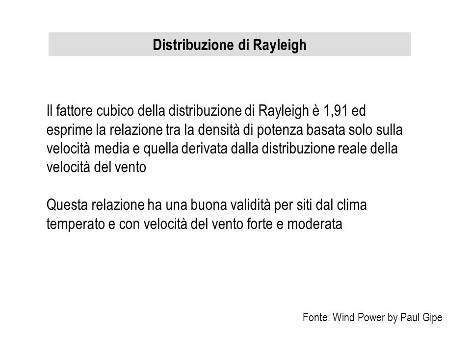 Distribuzione di Rayleigh