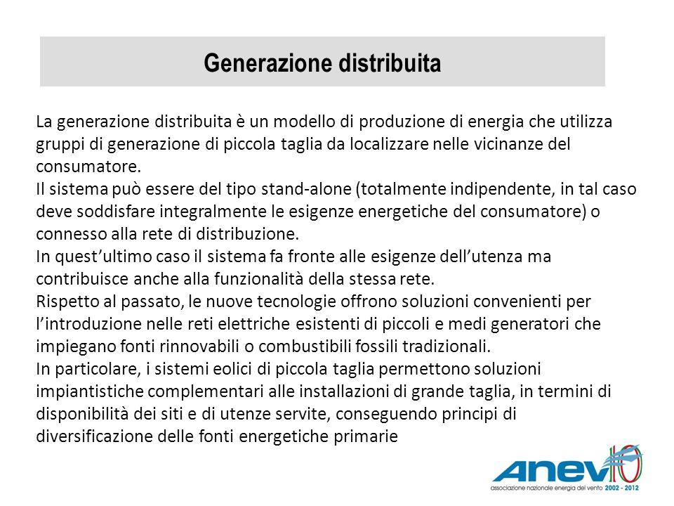 Generazione distribuita