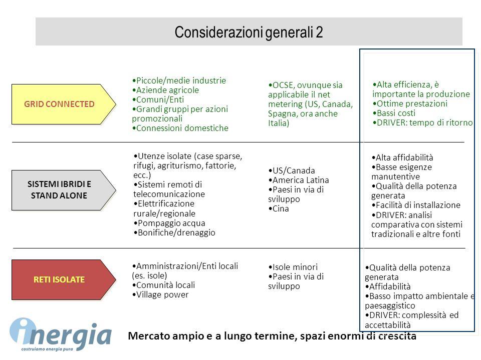 Considerazioni generali 2