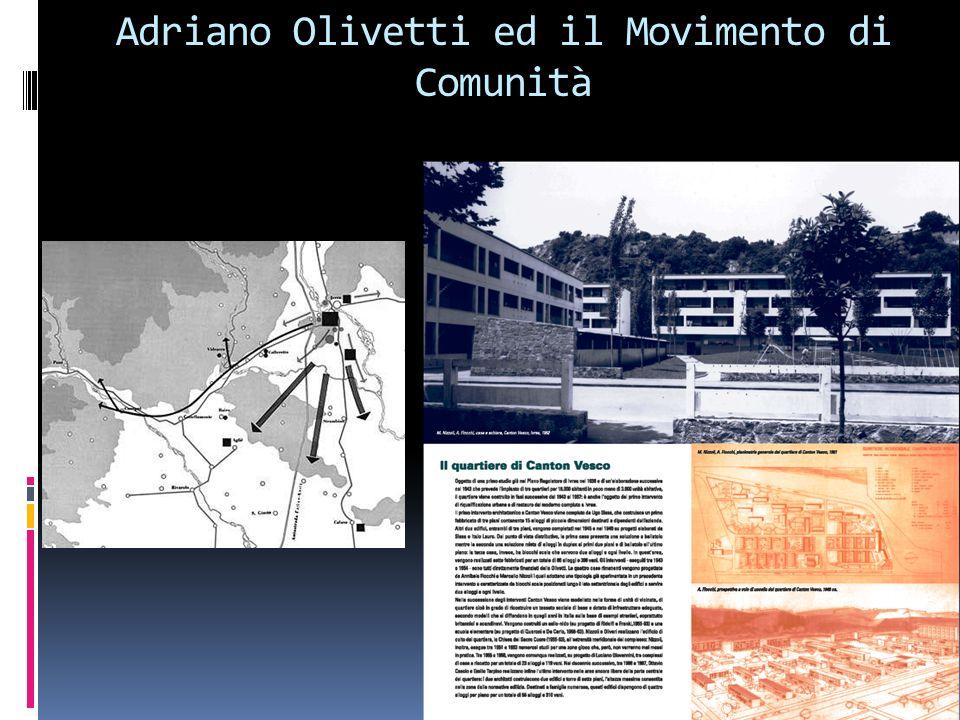 Adriano Olivetti ed il Movimento di Comunità