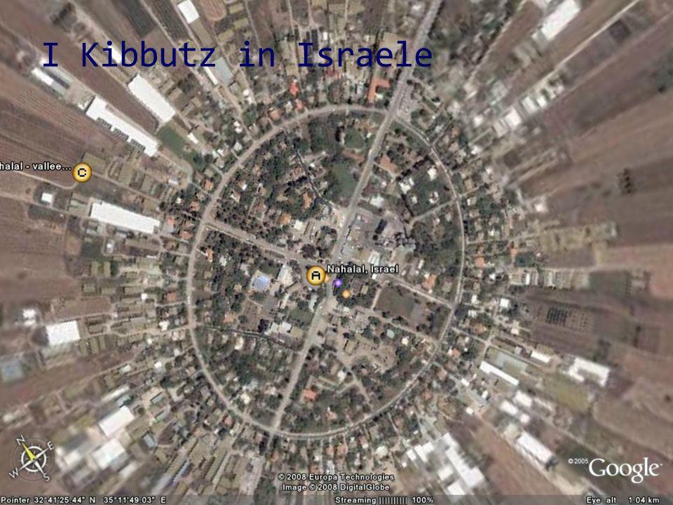I Kibbutz in Israele
