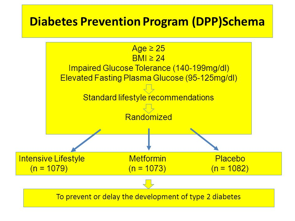 Diabetes Prevention Program (DPP)Schema