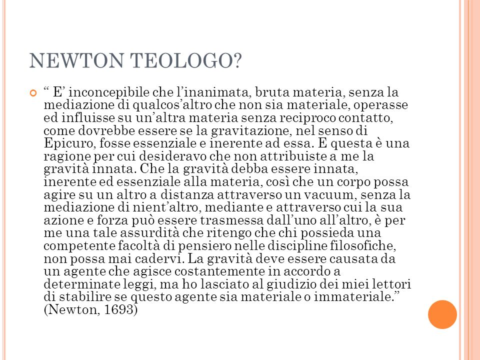 NEWTON TEOLOGO