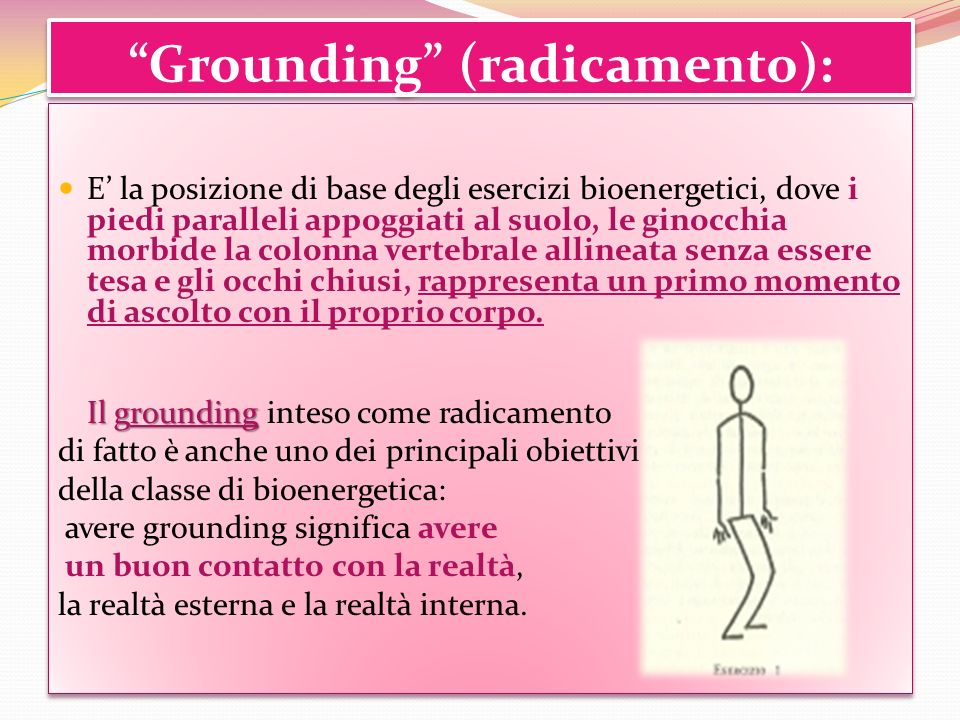 Grounding (radicamento):