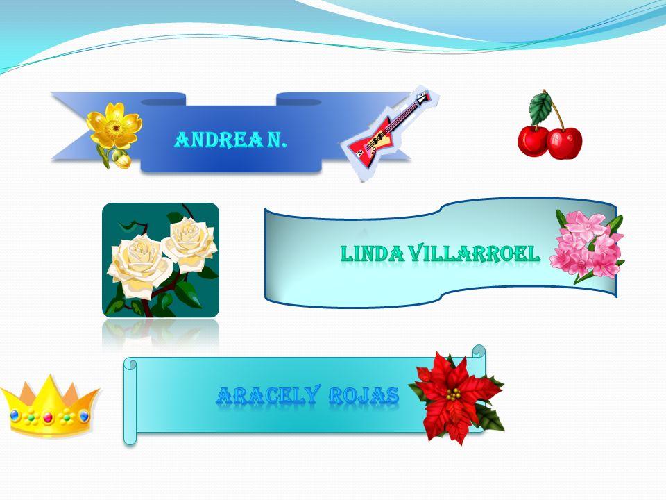 Andrea n. Linda villarroel Aracely rojas
