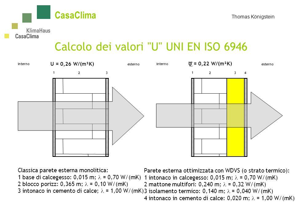 Calcolo dei valori U UNI EN ISO 6946
