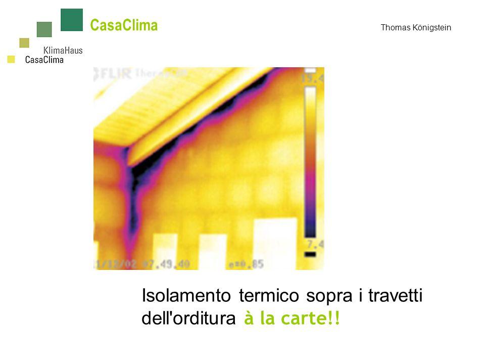 Isolamento termico sopra i travetti dell orditura à la carte!!