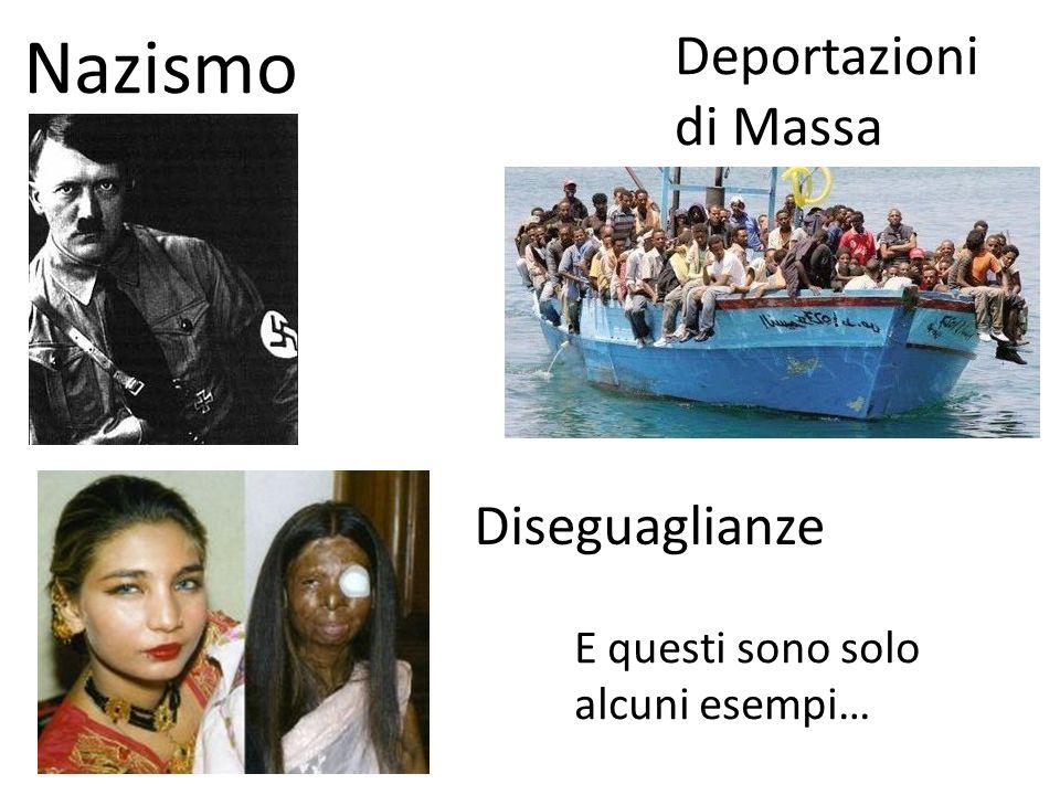 Nazismo Deportazioni di Massa Diseguaglianze