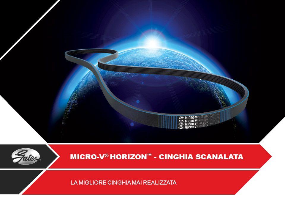 MICRO-V® HORIZON™ - CINGHIA SCANALATA