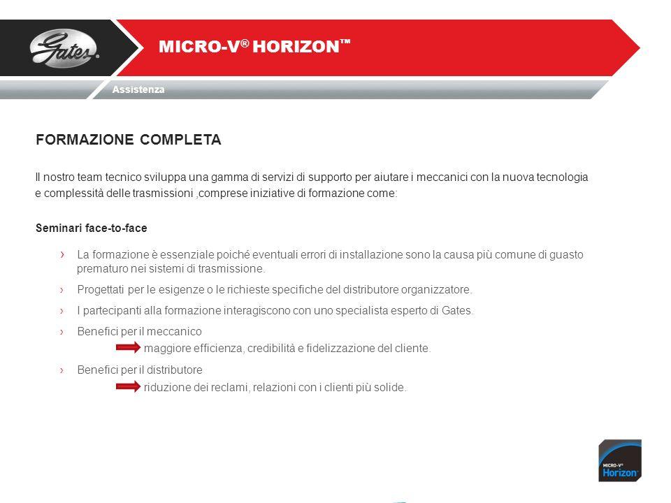 MICRO-V® HORIZON™ FORMAZIONE COMPLETA