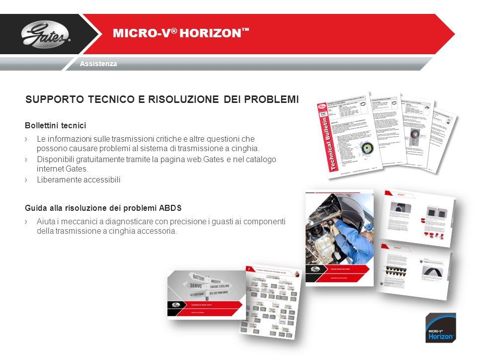 MICRO-V® HORIZON™ SUPPORTO TECNICO E RISOLUZIONE DEI PROBLEMI