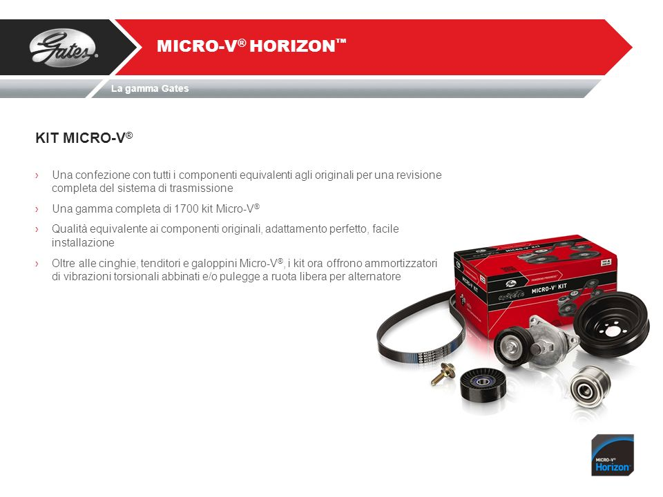 MICRO-V® HORIZON™ KIT MICRO-V®