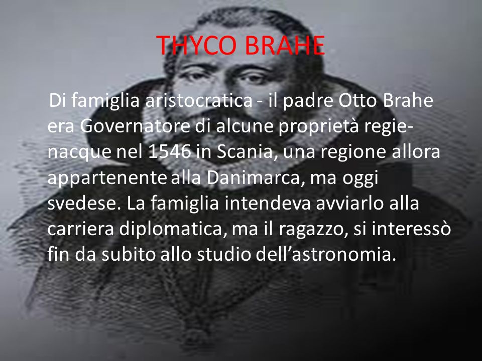 THYCO BRAHE