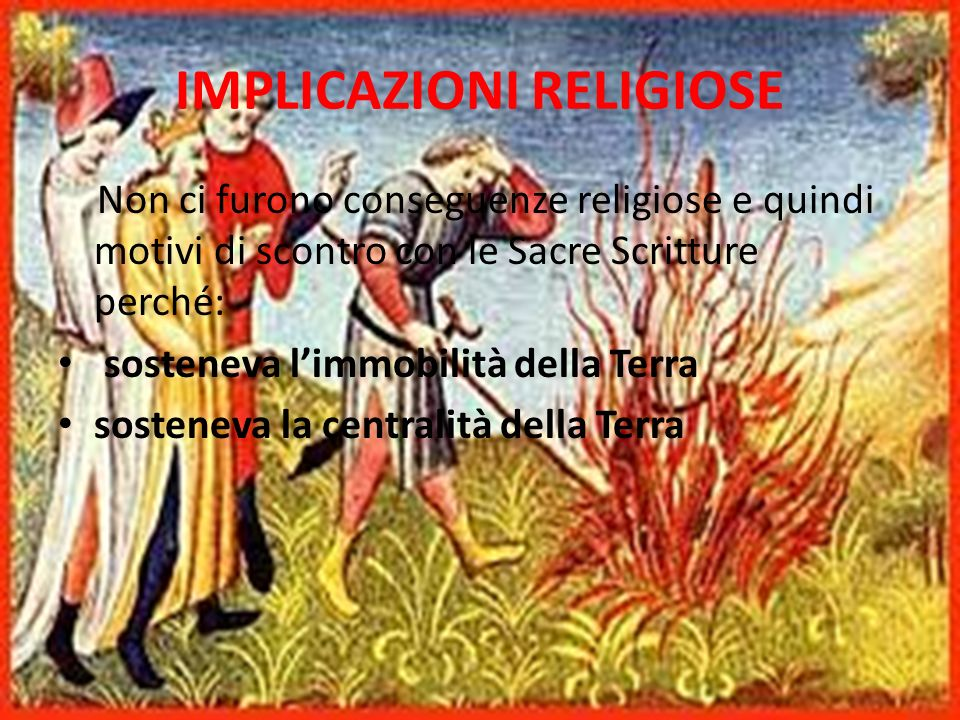 IMPLICAZIONI RELIGIOSE