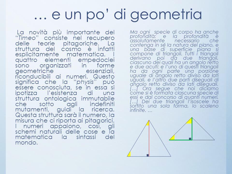 … e un po' di geometria