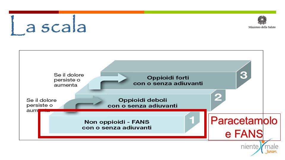 La scala Paracetamolo e FANS