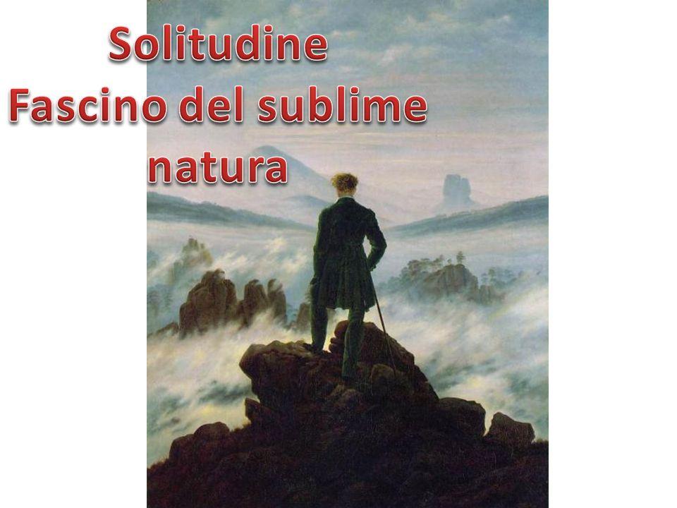 Solitudine Fascino del sublime natura