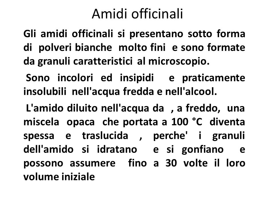 Amidi officinali