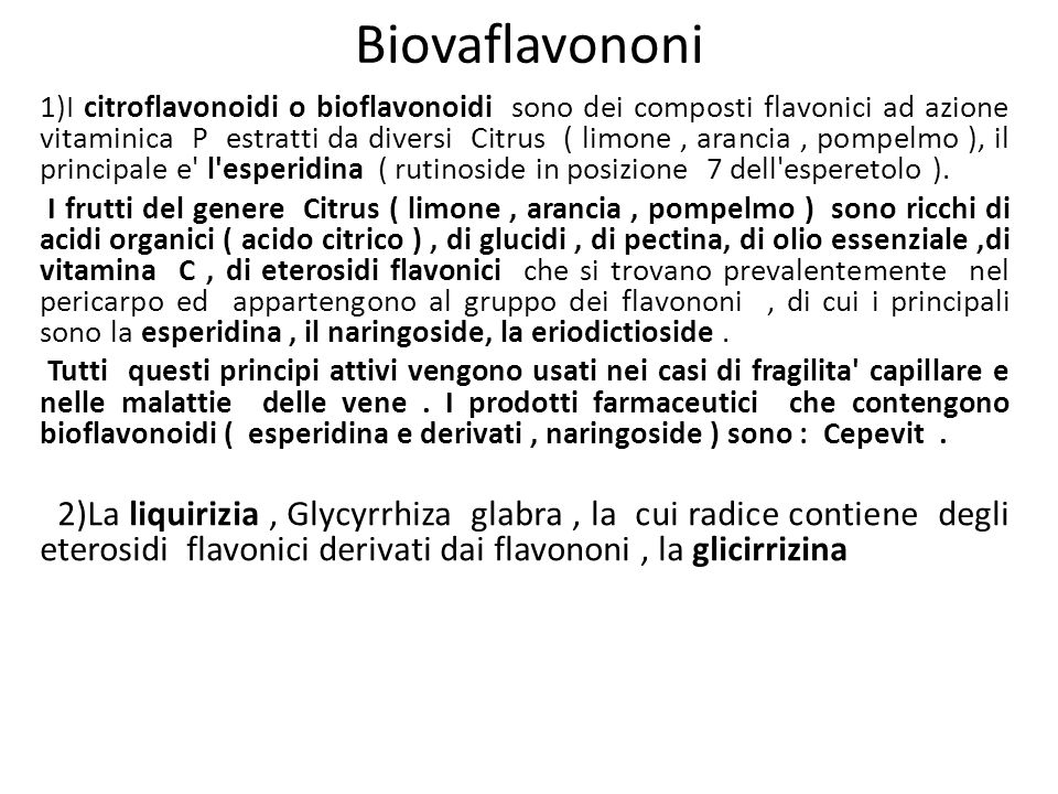 Biovaflavononi