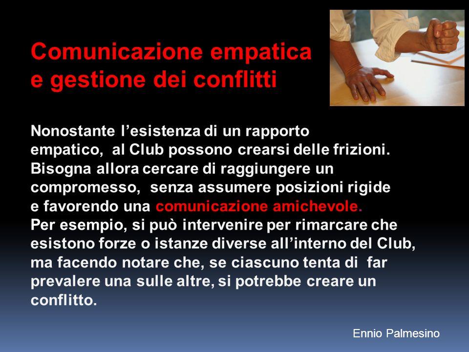 Comunicazione empatica e gestione dei conflitti