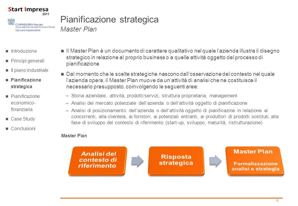 Pianificazione strategica Master Plan