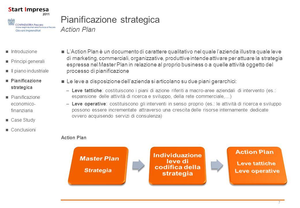 Pianificazione strategica Action Plan