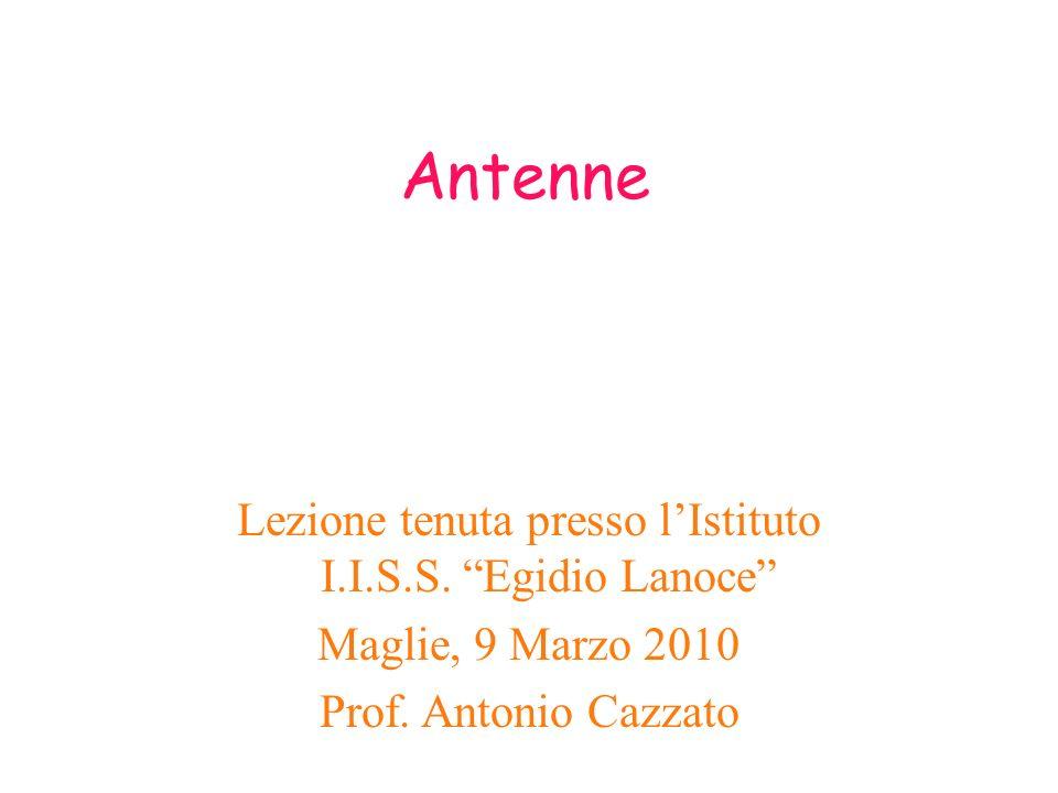 Lezione tenuta presso l'Istituto I.I.S.S. Egidio Lanoce